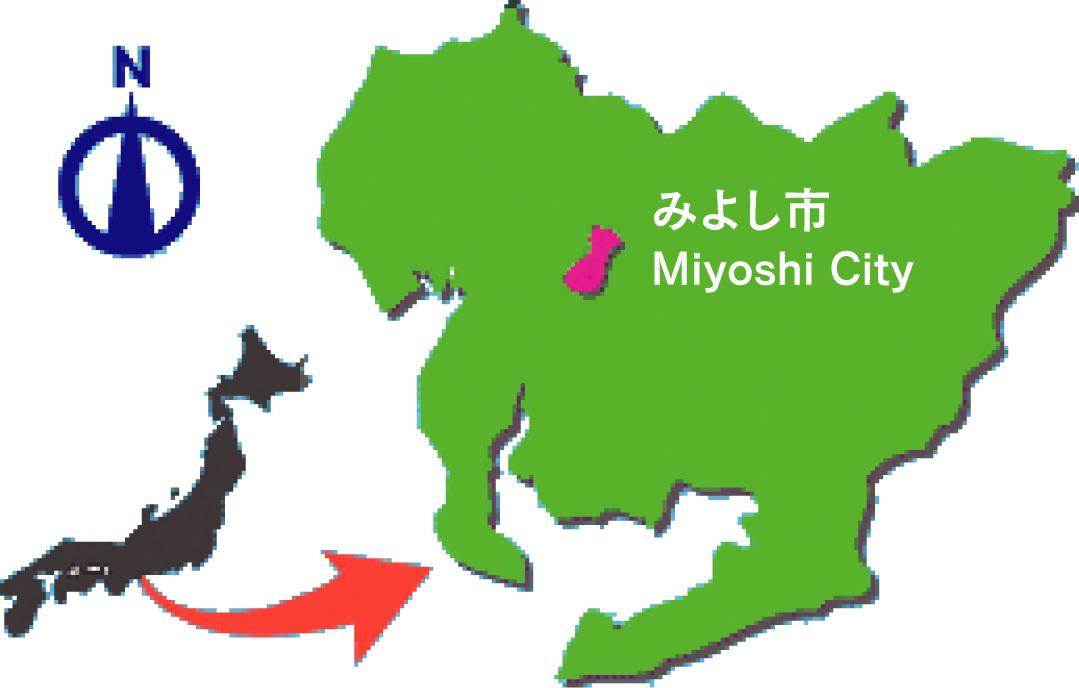 みよし市/アクセスマップ