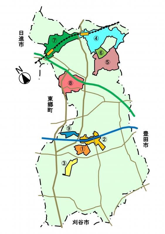 青毛特定土地区画整理事業